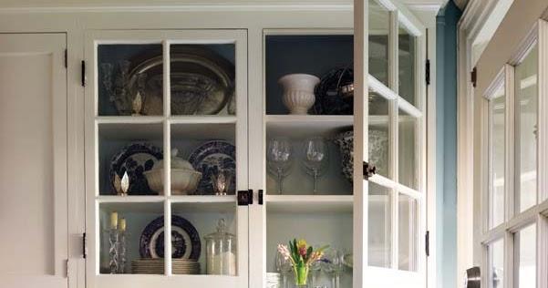 Una cocina en blanco y azul a white and blue kitchen - Cocina blanca y azul ...