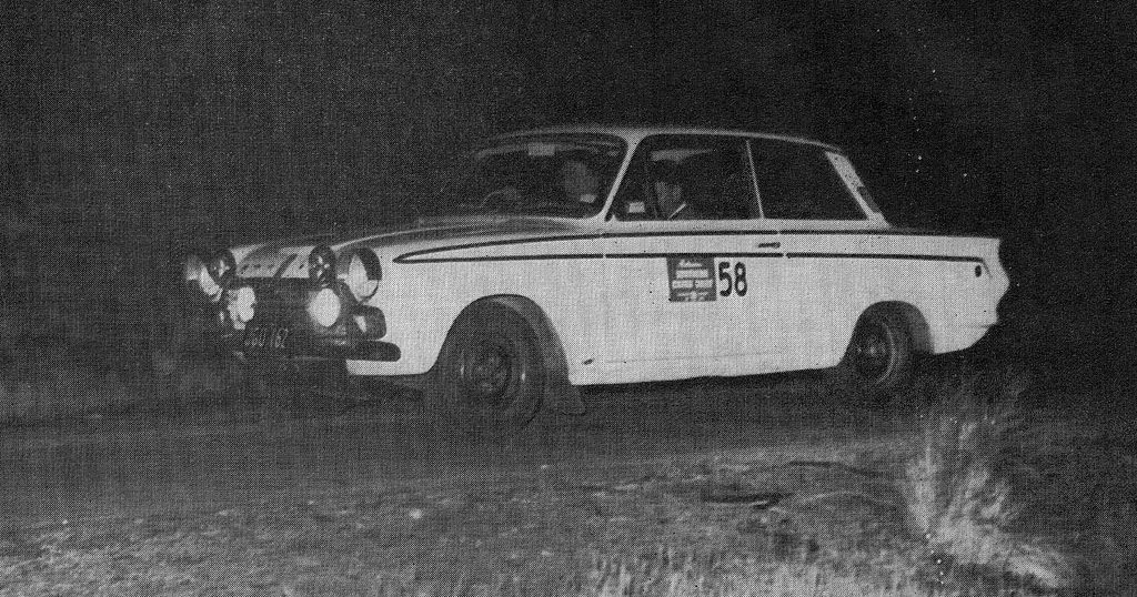 Southern Cross International Rally 1966 Opener To Firth