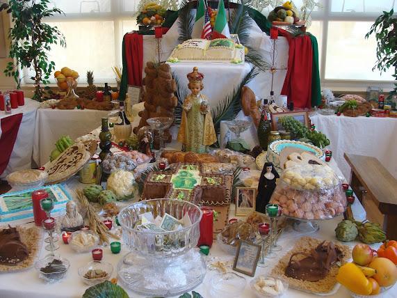 St Joseph Day altar
