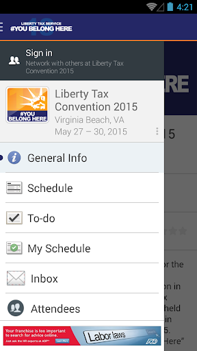 Liberty Tax Convention 2015