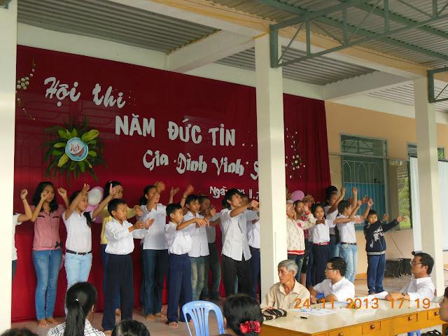 Cộng Đoàn Nữ Tử Bác Ái Vinh Sơn Sinh Hoạt Kết Thúc Năm Đức Tin