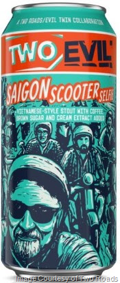 Image result for two roads two evil saigon scooter