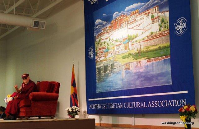 Tibetan Audience with HH Dalai Lama/HH Sakya Trizins Teaching in Portland, OR. - 28-cc%2BP5120153%2BC72.JPG