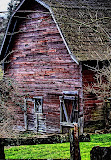 """Old Red Barn"" by Robert Dunbar - 1st place B special"