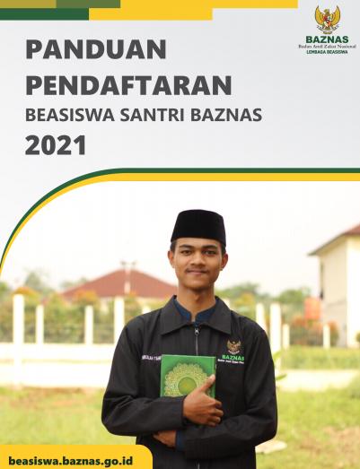 Panduan Pendaftaran Beasiswa Santri BAZNAS 2021 - Belajar Cerdas