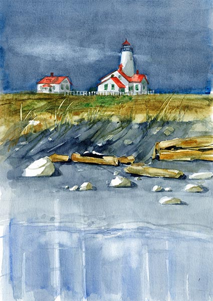 Lighthouse - Beach