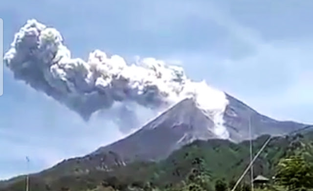 BPPTKG: hingga tinggi 1000 meter Merapi keluarkan letusan!