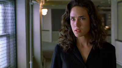 Jennifer Connelly as John Nash's wife.