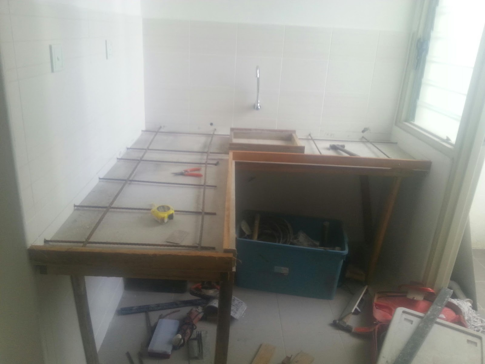 Buat Tabletop Meja Dapur Bandar Baru Bangi Yen 3