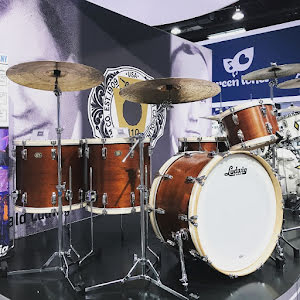 Ludwig Legacy Mahogany - 110'th Anniversary Limited Edtion Van Buren-Kit!