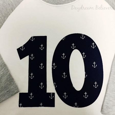 Boys Tween Birthday Tee shirt Tenth Birthday by Daydream Believers Designs