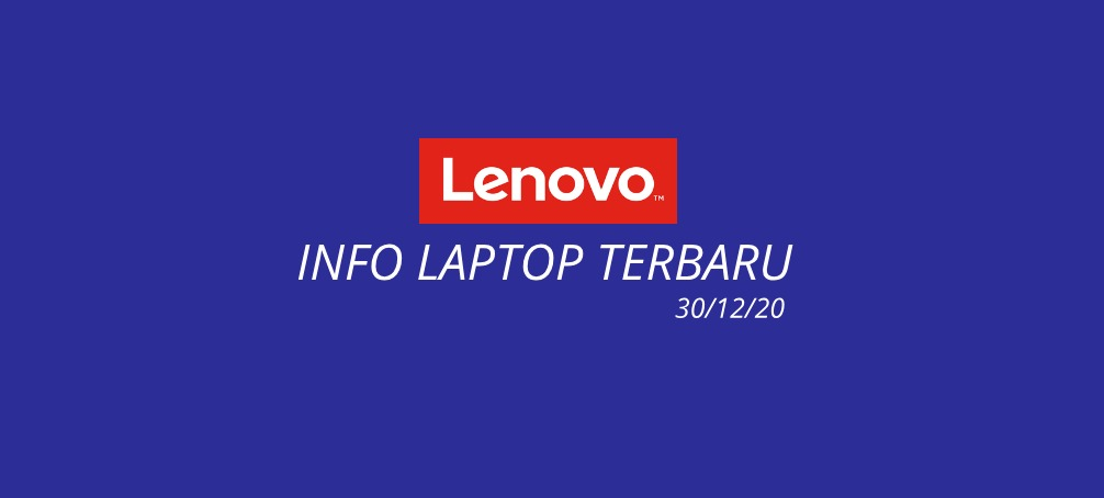 daftar laptop lenovo terbaru