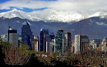 Santiago, Chile- Andes Mountains east and Pacific coast on west!