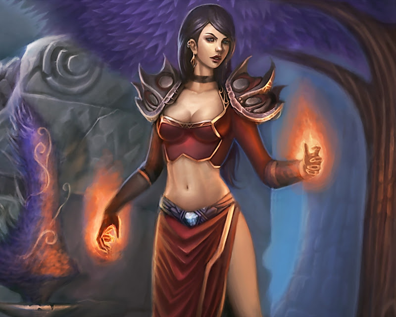 Spell Of Fire Magic, Magic And Spells