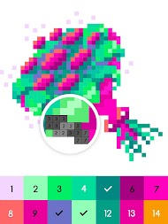 Colors by Number ® - inStar APK screenshot thumbnail 12