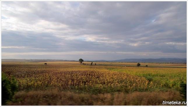 Дорога в Бургас из Велико Тырново