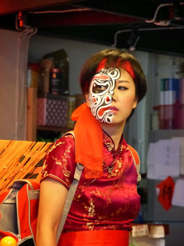 Taipei. Maquillage au Thinker s theater à Di Rua jie 迪化街 - maquillage1%2B020.JPG