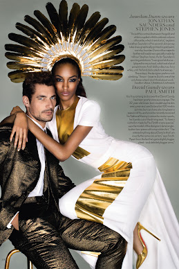 Vogue UK September 2012 - Midas Touch