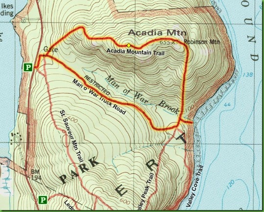 Acadia hike mapC