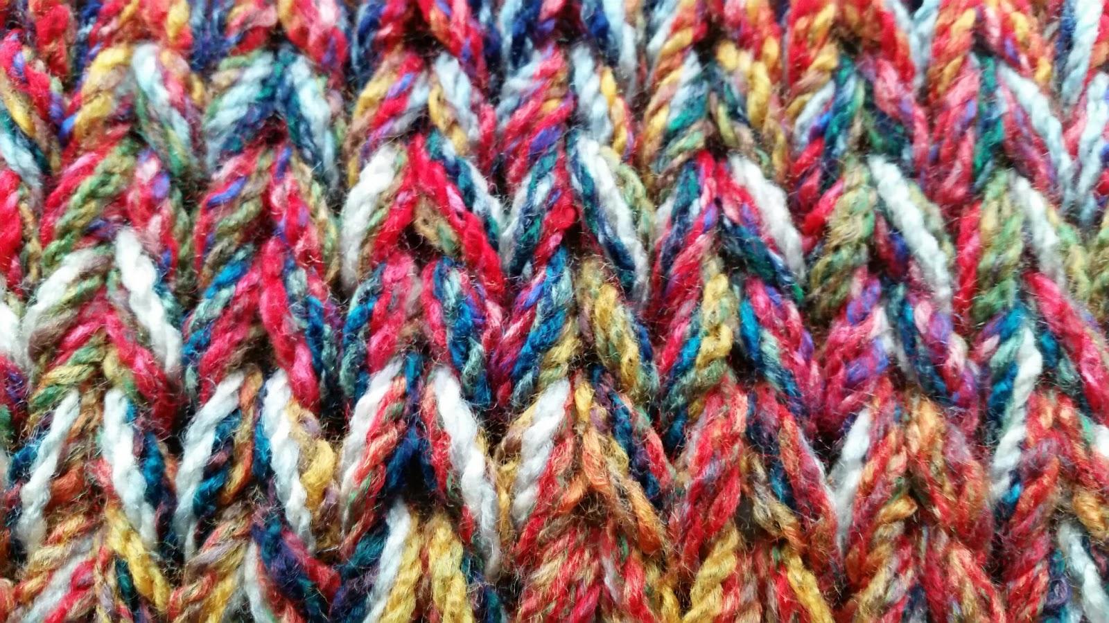 Extreme Knitting Blanket Pattern : Knit-Sew-Grow: Extreme Knitting Blanket