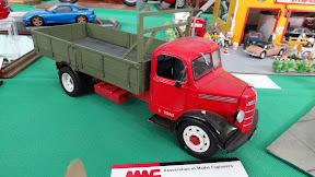 Old Bedford Truck Model