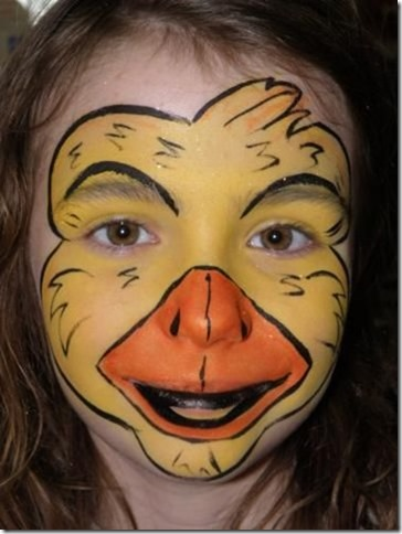maquillaje de pato 2