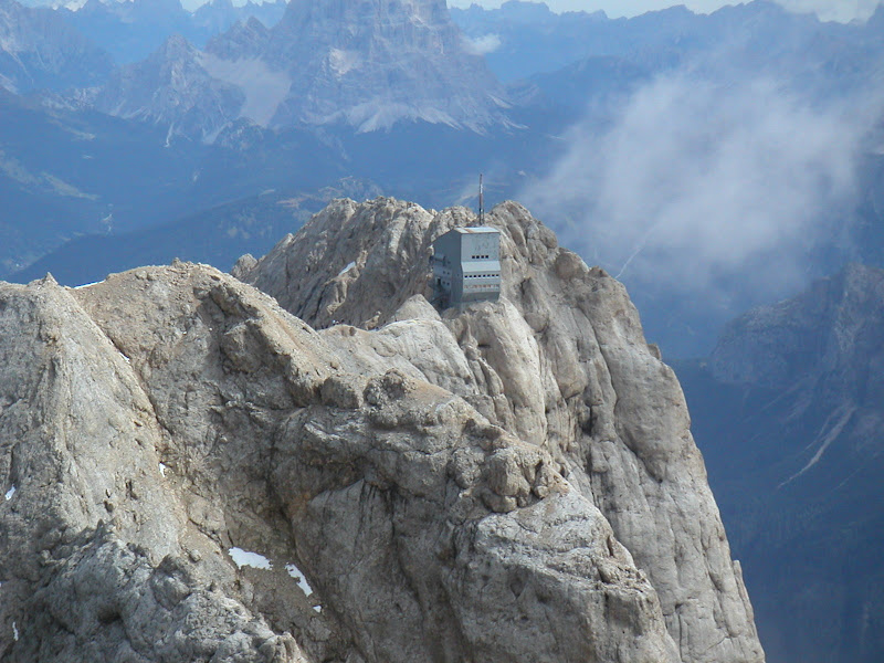 Marmolada • View of Punta Rocca Summit
