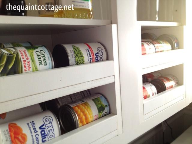 The Quaint Cottage Diy Can Good Storage