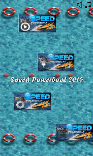 Speed Powerboat 2015