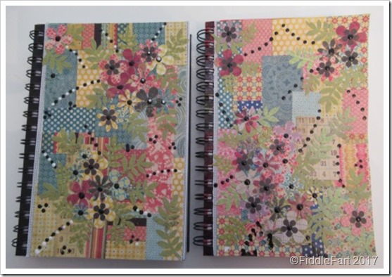 Decorated Notebook Covers