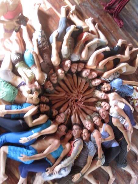 A HuManDala we made at a Synergy event in Tulum. We Are Beautiful!