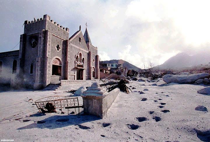Montserrat, a tragédia na Ilhas das Esmeralda