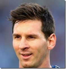 Soccer Player Haircut Lionel Messi