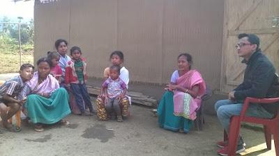 Follow up visit to Khatkati village, Kamrup