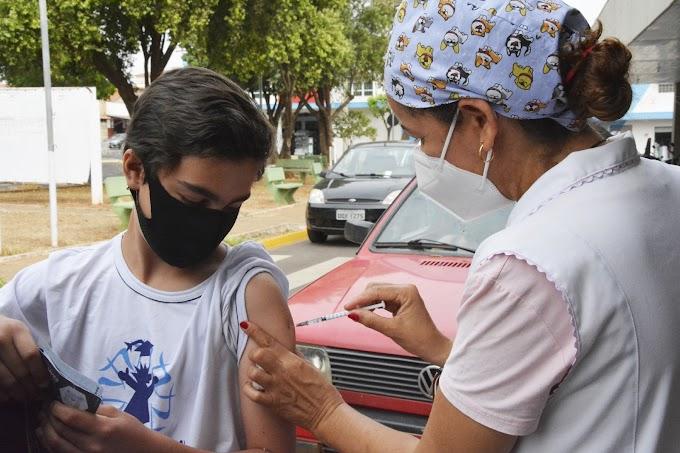 Birigui vacina público de 12 e 13 anos e entra na fase final da imunização dos adolescentes