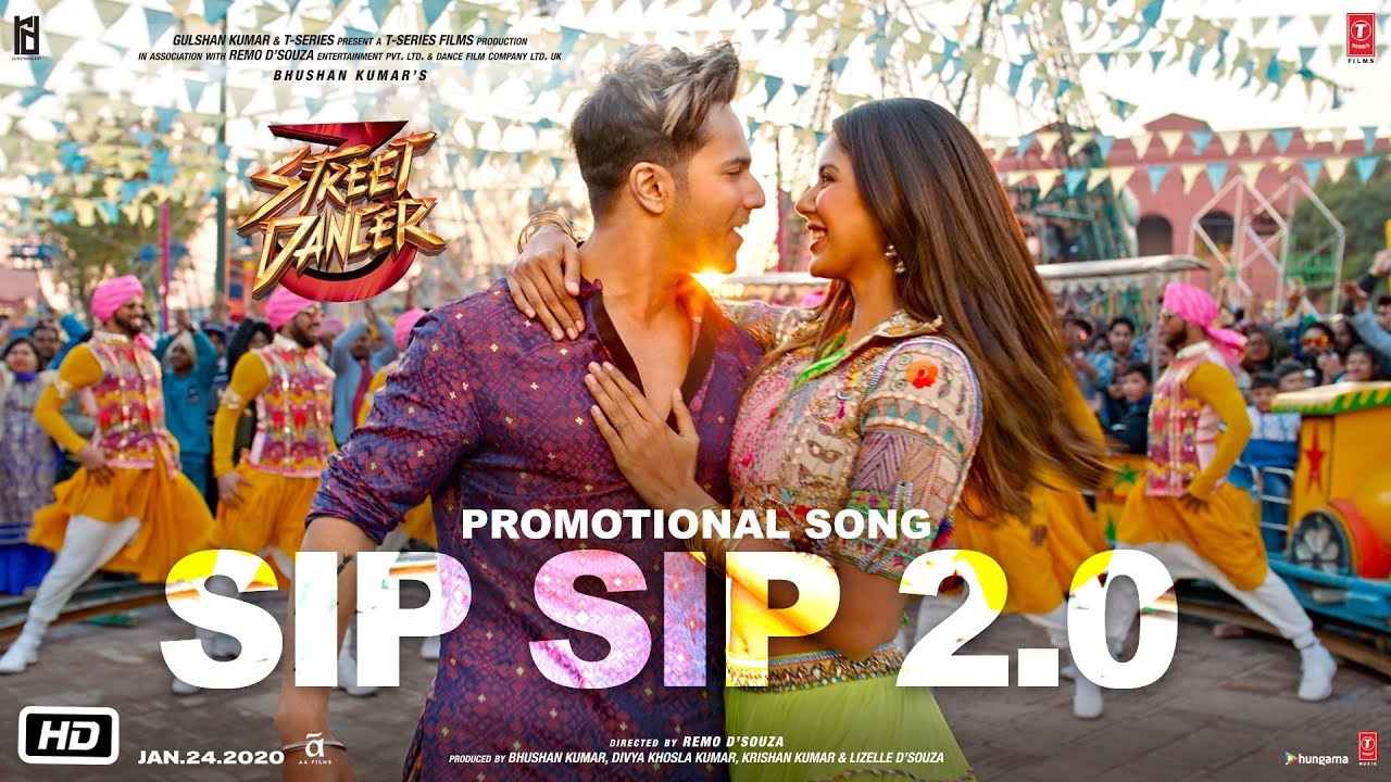 Sip Sip 2.0 Lyrics- Street Dancer 3D