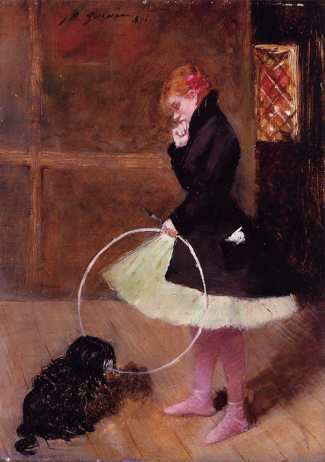 Jean-Louis Forain - Dancer with a Hoop