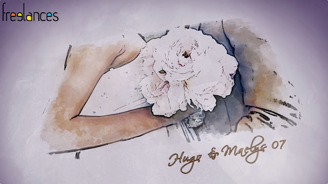 clip vidéo mariage thème dessine moi texte 07 photo 07