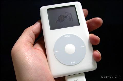 iPod need charge