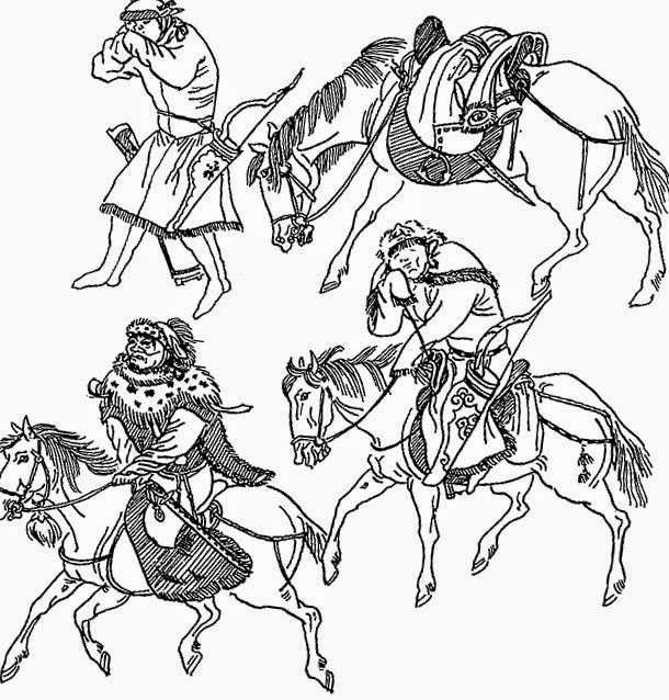 Конница монголов