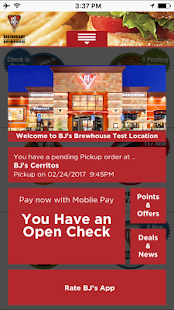 BJ's Mobile App- screenshot thumbnail