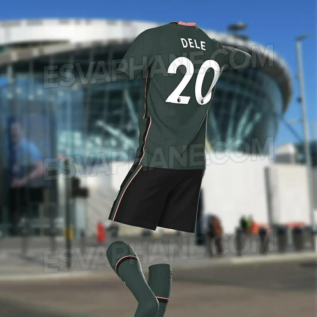 Bocoran jersey Tottenham Hotspurs Away 2020/2021
