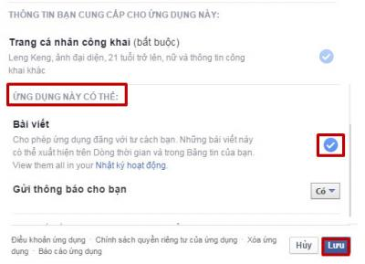 Cách để chặn ứng dụng tự động spam trên tường Facebook
