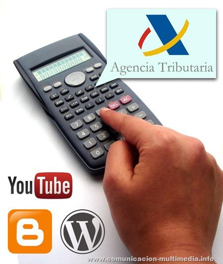Imagen del artículo: una mano con una calculadora + logos.