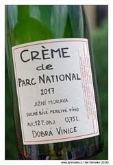 dobra-vinice-créme-de-parc-national-2017