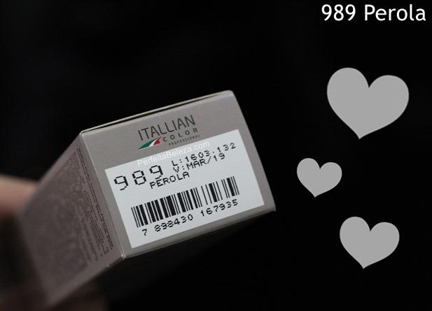 989 perola itallian color, tonalização de loiro