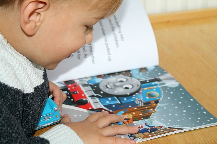 thomas & friends christmas book review