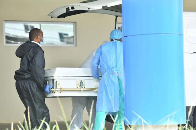 Un Fallecido por COVID, 23 cama ocupadas Y 17 camas disponibles ,  en el Hospital Jaime Sanchez .