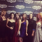 #MagicCastle July 2014. I tried to smize and failed.  Heather Henderson, Derya, Heather E, @blytherenay, me, and @carogayle. #LadiesNight #skeptics #friends #Hollywood #magic