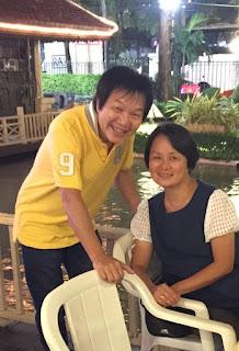 周美亮與溫錦茂已有四十五年沒見過面